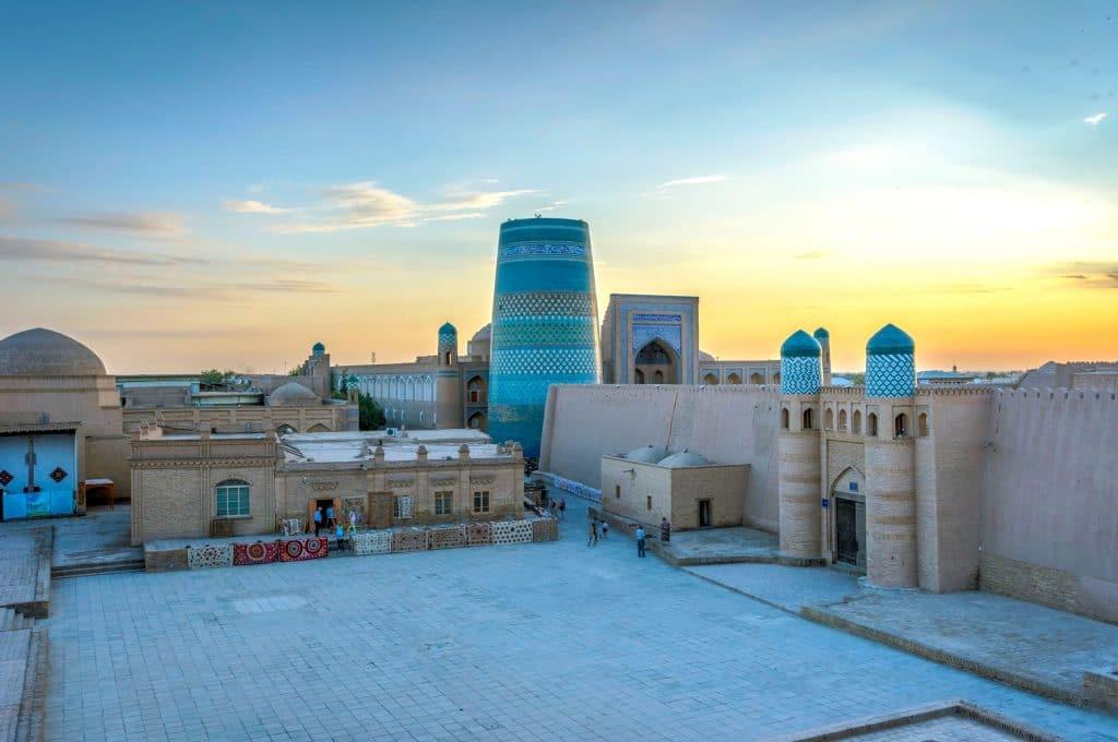 Khiva no Uzbequistão
