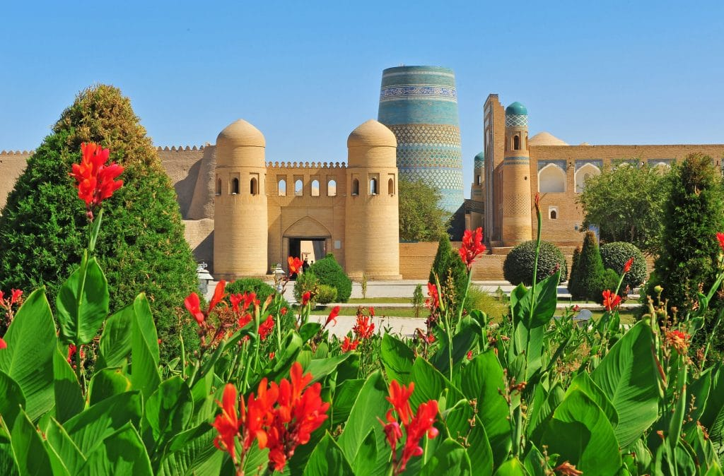 Lugares UNESCO no Uzbequistão