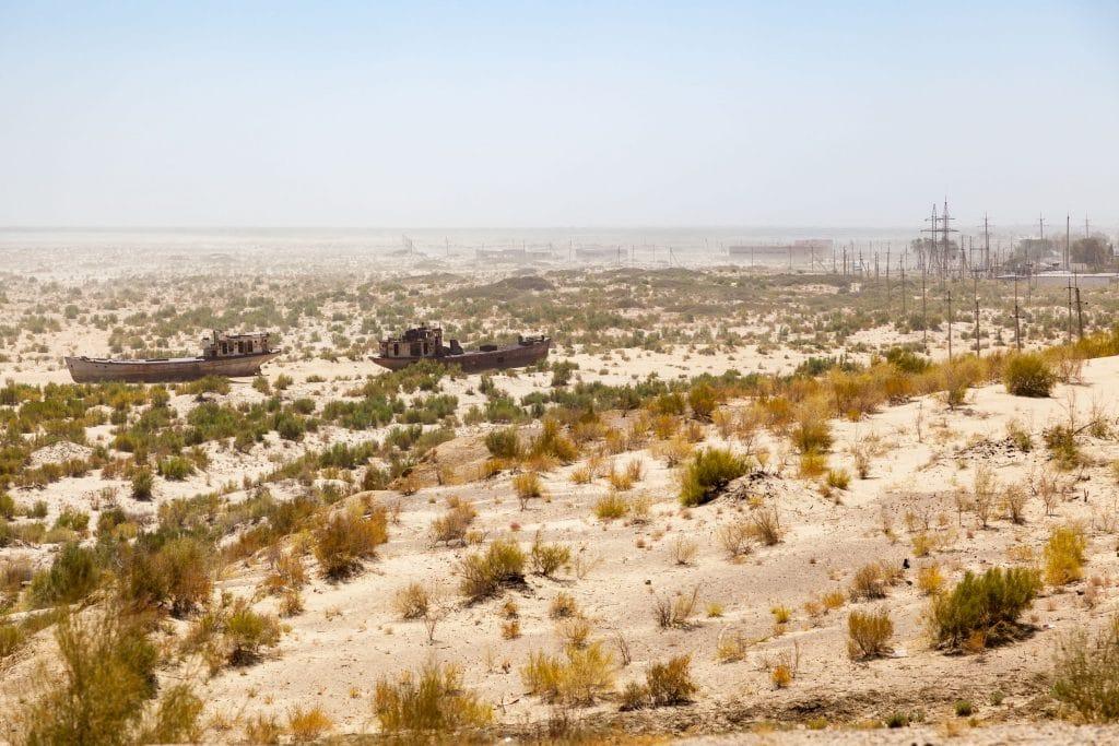 O que aconteceu ao Mar de Aral