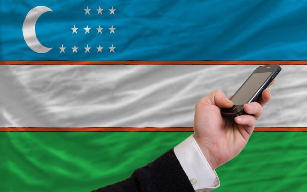 Telefone Internet Uzbequistao