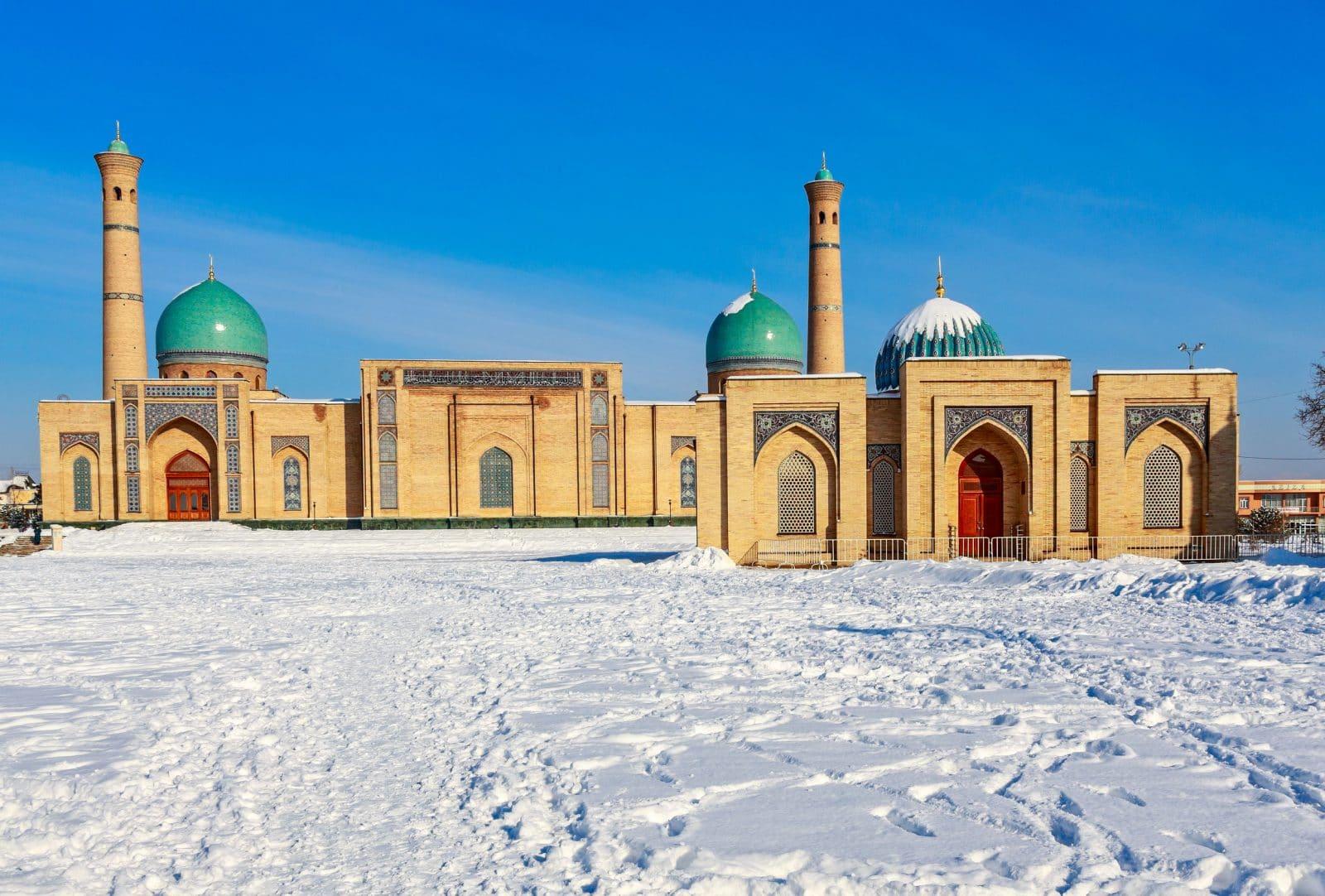 Uzbequistão no Inverno